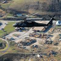 Tornado Destruction over West Liberty, Kentucky