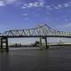 Large bridge at the mouth of the Mississippi at Baton Rouge, Louisiana
