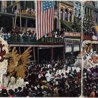 1904 Rex Day Parade in New Orleans, Louisiana