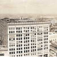 New Orleans panorama 1919 Central business district in Louisiana