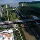 Aerial View of the Port Allen Lock in Louisiana