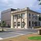 Historic former Rapides Bank and Trust Company building in Alexandria Louisiana
