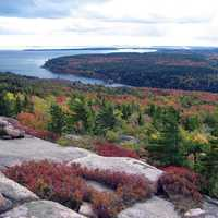 Fall Colors coming to bloom at Acadia National Park, Maine