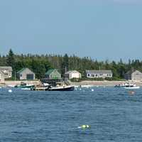 Cranberry Isles, Maine coastline