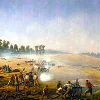 Artillery Hell at Antietam Battlefield, Maryland
