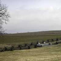 Bloody Line at Antietam National Battlefield, Maryland