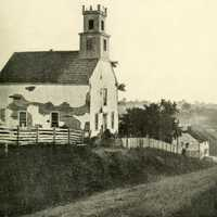 Lutheran Church outside Sharpsburg at Antietam Battlefield, Maryland