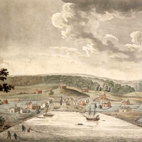 Baltimore Town in 1752 in Maryland