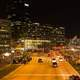 Night Time in Downtown Baltimore, Maryland