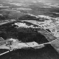 Aerial View of Greenbelt in 1937.