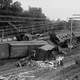 Head-on train wreck in Laurel in 1922 in Maryland