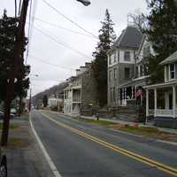 Historic buildings in Port Deposit, Maryland
