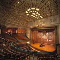 Jordan Hall at the New England Conservatory in Boston, Massachusetts