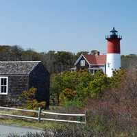 French Cable Hut in Cape Cod, Massachusetts