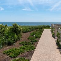 Walkway in Yarmouth, Cape Cod, Massachusetts
