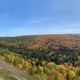 Colored Trees of the Autumn Forest panoramic