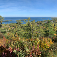 Overlooking Copper Harbor from the Mountain Drive