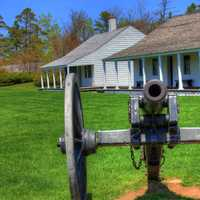 The Cannon at Fort Wilkens State Park, Michigan