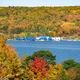 Autumn landscape look at Houghton, Michigan