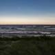 Dusk and Horizon landscape upon Lake Michigan at J.W. Wells State Park