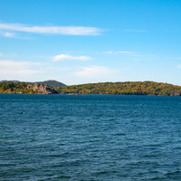 Autumn Seascape in Presque Isle at Marquette