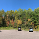 Fall Colors panoramic at sugarloaf mountain parking lot