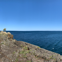 Lake Superior at the end of Presque Isle