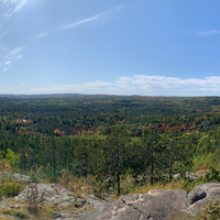 Panoramic view from the top of Sugarloaf Mountain
