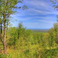 Clearing view from Mount Arvon, Michigan