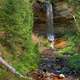 Full Munising Falls at Pictured Rocks National Lakeshore, Michigan