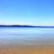 The water of Lake Superior at Pictured Rocks National Lakeshore, Michigan