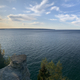 Panoramic view at Miner's castle with Lake Superior