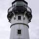 Closeup of the lighthouse in Duluth, Minnesota