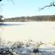 Frozen Lake at Glacial Lakes State Park, Minnesota