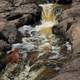A mini-falls at Gooseberry Falls State Park, Minnesota