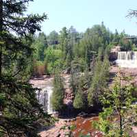 Gooseberry Falls Scenery at Gooseberry Falls State Park, Minnesota