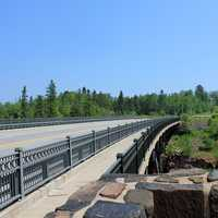 Highway Bridge at Gooseberry Falls State Park, Minnesota