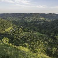 Valley Landscape at Great River Bluffs State Park