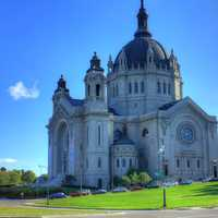 Large Cathedral Building at St. Paul, Minnesota