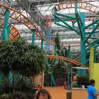 Mall of America Rollercoaster in Minneapolis, Minnesota