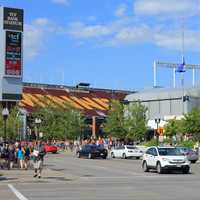 University of Minnesota Stadium in Minneapolis, Minnesota