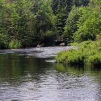 Baptism River  in Superior National Forest, Minnesota