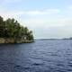 Lake Kabetogama landscape at Voyaguers National Park, Minnesota
