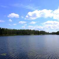 View of Interior Lake at Voyaguers National Park, Minnesota