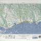 1953 map of the Mississippi Gulf Coast around Gulfport