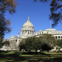 Mississippi State Capital in Jackson