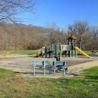 Playground and Castlewood State Park, Missouri