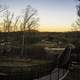 Outdoors Balcony at Dusk at Echo Bluff State Park, Missouri