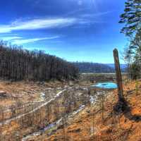 Beautiful Valley Landscape at Johnson's Shut-Ins State Park