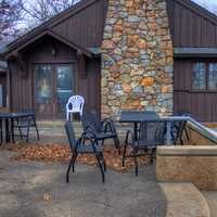 Dining Place at Meramec State Park, Missouri